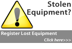 Register your stolen equipment here